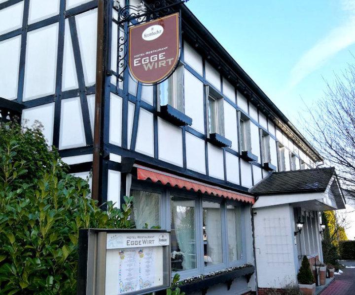 Außenansicht Hotel Restaurant Egge Wirt